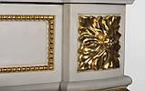 Мраморный камин Аркадия Стиль Людовика XVI(сусальное золото), фото 8