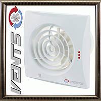 Вытяжной Вентилятор Вентс 100 Квайт для ванной комнаты в стильном дизайне,тихий ,качественный пластик