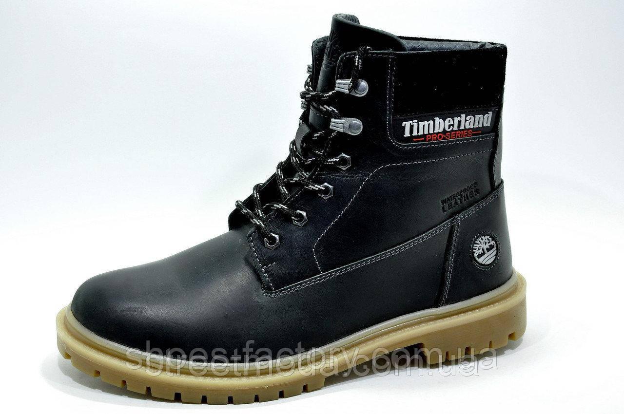 Зимние ботинки в стиле Timberland, Black