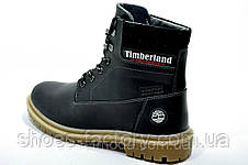 Зимние ботинки в стиле Timberland, Black, фото 3