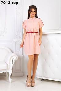Женское платье стильное 7012 тер