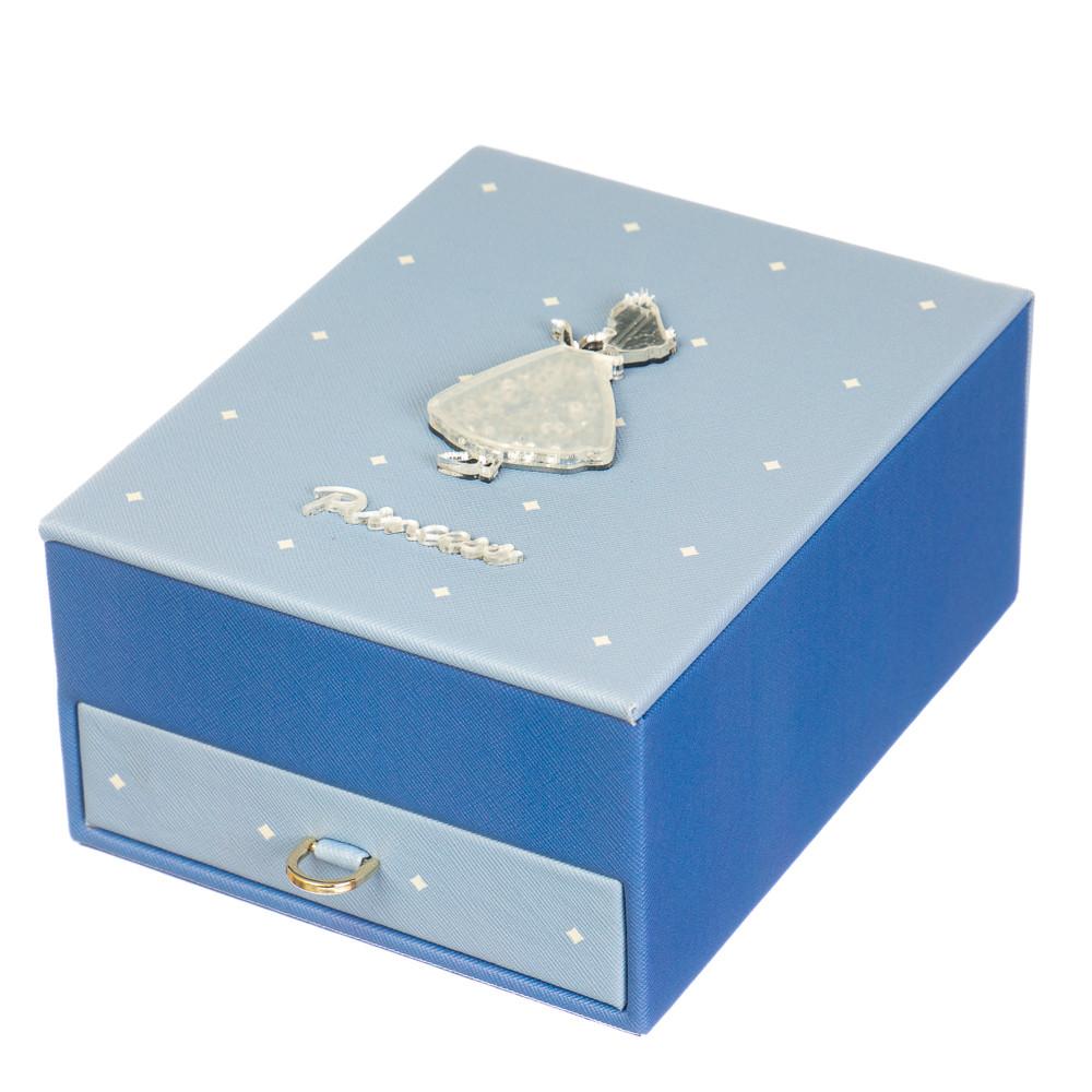 Шкатулка для украшений MHZ 8030-010 Воздушные мечты, голубая