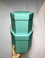 Коробка шестигранная