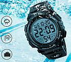 Спортивные мужские часы Skmei 1258 red / blue / gold / army green / black, фото 2