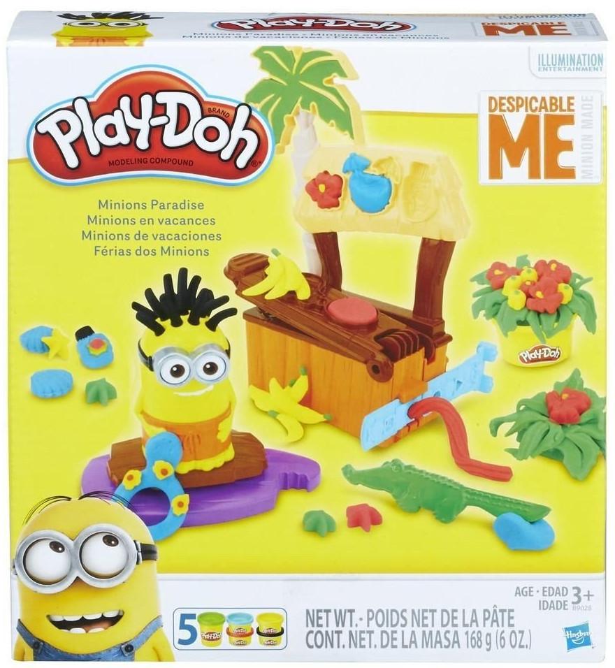 Hasbro Play Doh Плей-До Игровой набор Рай миньонов-B9028
