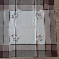 Скатерть льняная квадрат 85*85, фото 1