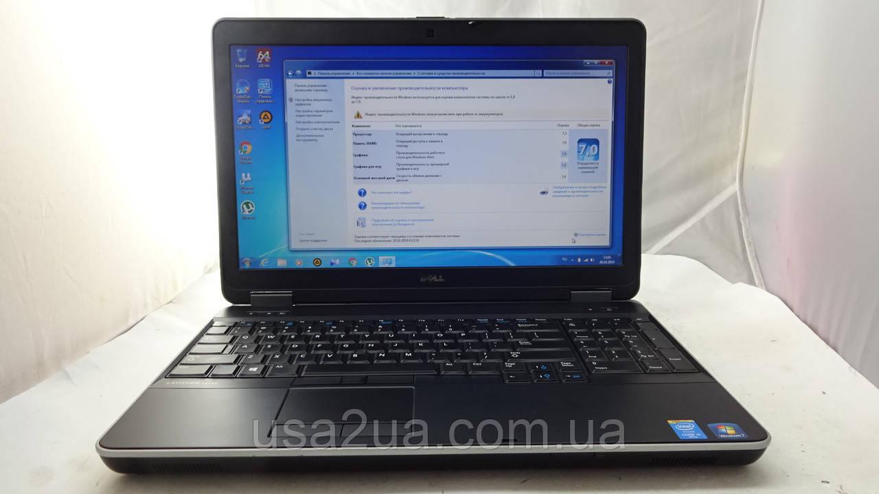"15.6"" Мощный Ноутбук Dell Latitude E6540 Core I5 4gen/SSD+HDD/две Видеокарты КРЕДИТ ГАРАНТИЯ"