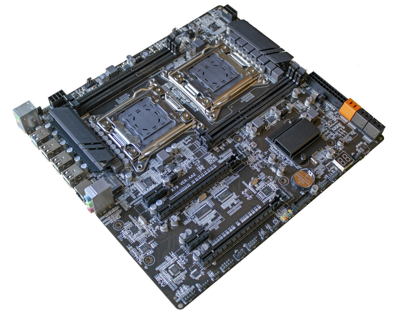 Комплект X79-AA2 + 2 х Xeon E5-4620 + 16 GB RAM + Кулер, LGA 2011