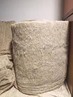Оконный утеплитель материал ЛЕН натуральный толщина 3 см в ленте шир. 40 см длина 4 м, фото 1