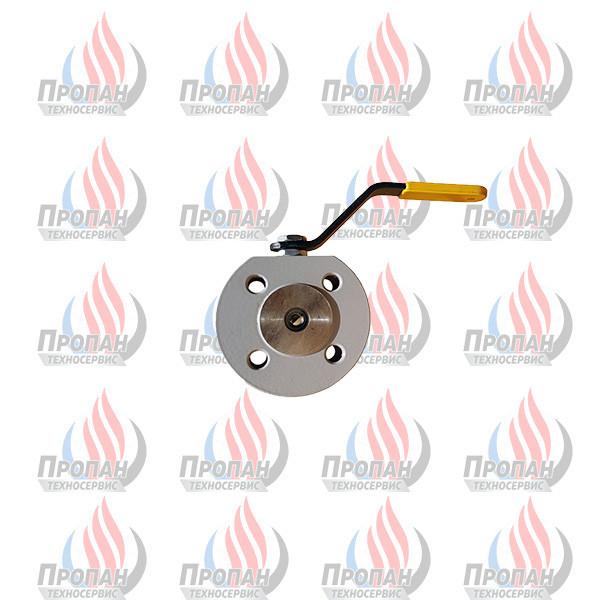 Кран шаровый межфланцевый EFAR WK 4a PB DN 15 PN40 для сжиженного газа
