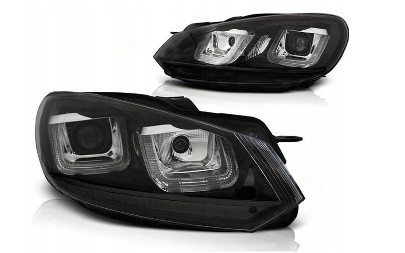 Фары для VW Golf VI 6 08-12 Black Line