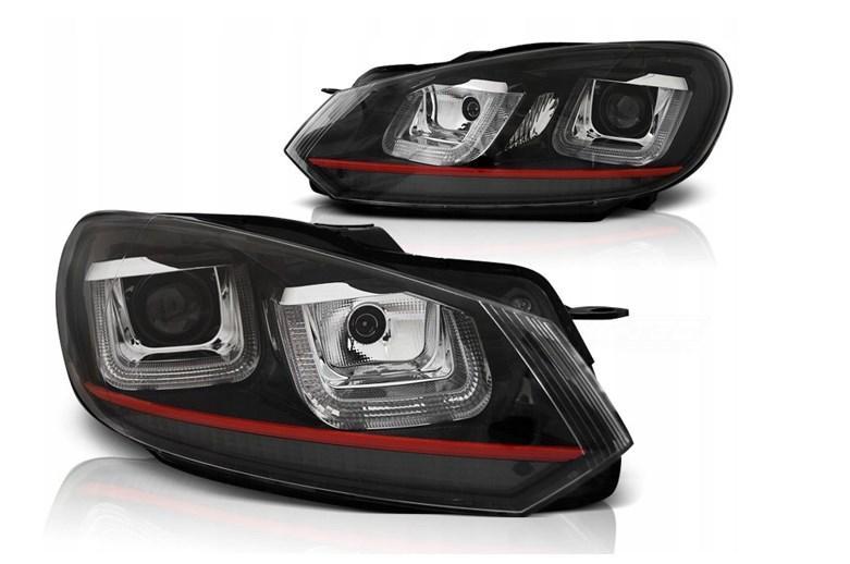 Фары для VW Golf VI 6 08-12 Red Line