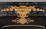 Мраморный камин Ноай с бронзовыми орнаментами, фото 2