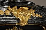 Мраморный камин Ноай с бронзовыми орнаментами, фото 3