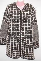 Жіночий вовняної кардиган пальто Великі розміри Дуже теплий Супер подарунок!