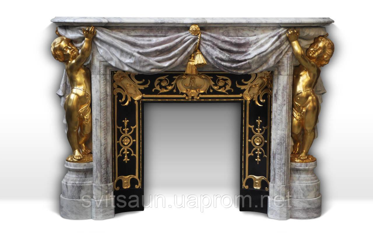 Мраморный камин Опера Стиль Наполеон III и эклектизм
