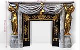 Мраморный камин Опера Стиль Наполеон III и эклектизм, фото 10