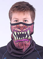 Подростковый термоактивный бафф SportZone Maska Wilkolak. Теплая лыжная маска.