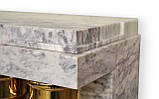 Мраморный камин Пакетбот Стиль Арт Деко , фото 6