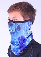 Подростковый термоактивный бафф SportZone Maska Blucz. Теплая лыжная маска.