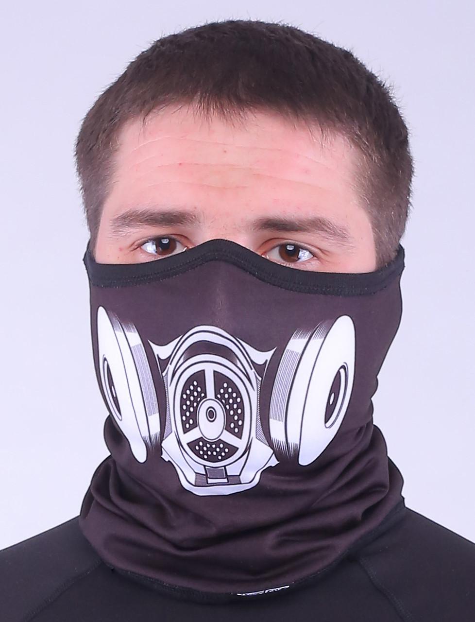 Термоактивный бафф SportZone Maska MLK. Теплая лыжная маска.