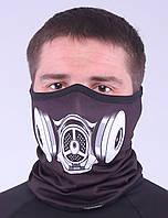 Термоактивный бафф SportZone Maska MLK. Теплая лыжная маска., фото 1