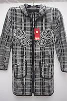 Женский  шерстяной кардиган пальто Большие размеры Очень теплый  Супер подарок!