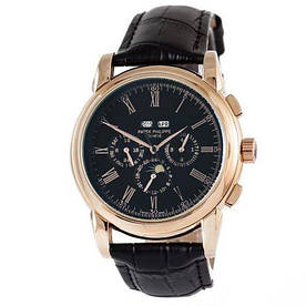 Наручные часы стандарт  Patek Philippe Grand Complications Rome AA Black-Gold-Black