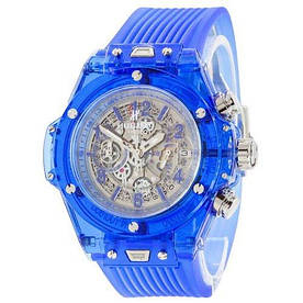 Наручные часы стандарт Hublot Big Bang Quartz Unico Sapphire Blue