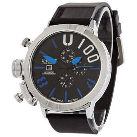 Наручные часы стандарт U-boat Italo Fontana Silver-Black-Blue