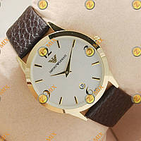 Часы Armani Slim Quartz Gold/White