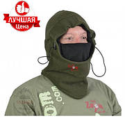 Шапка-маска, балаклава флисовая Carp Zoom Fleece Winter Hood