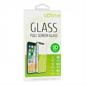 Защитное стекло Optima 5D для iPhone 6 Plus Черный