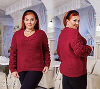 """Женский свитер больших размеров """" Марс """" Dress Code, фото 1"""