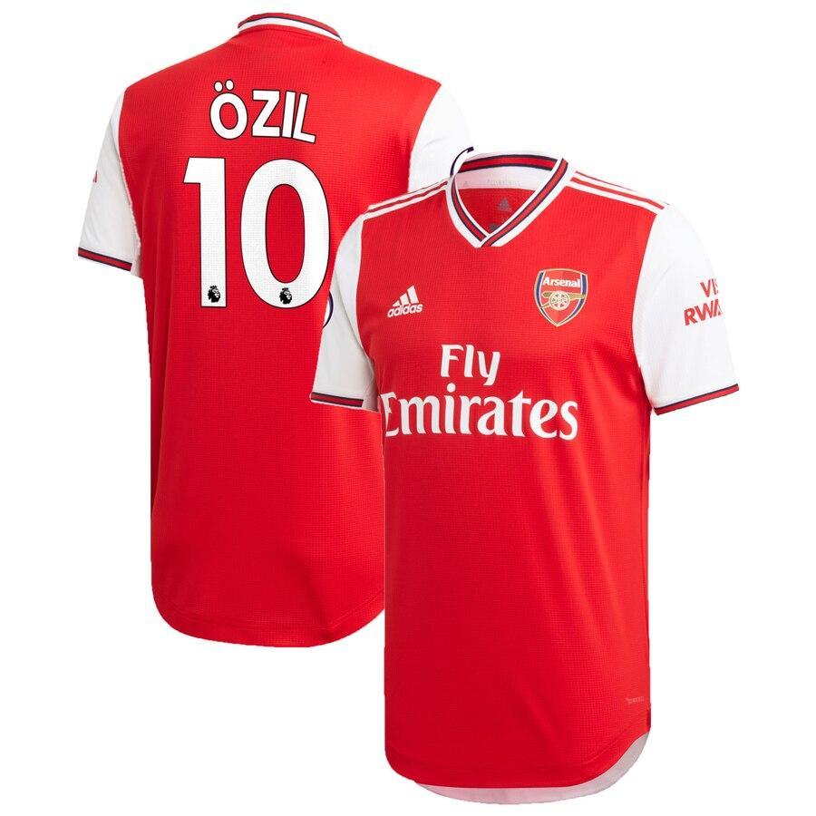 Футбольная форма Арсенал OZIL 10 сезон 2019-2020 основная красная