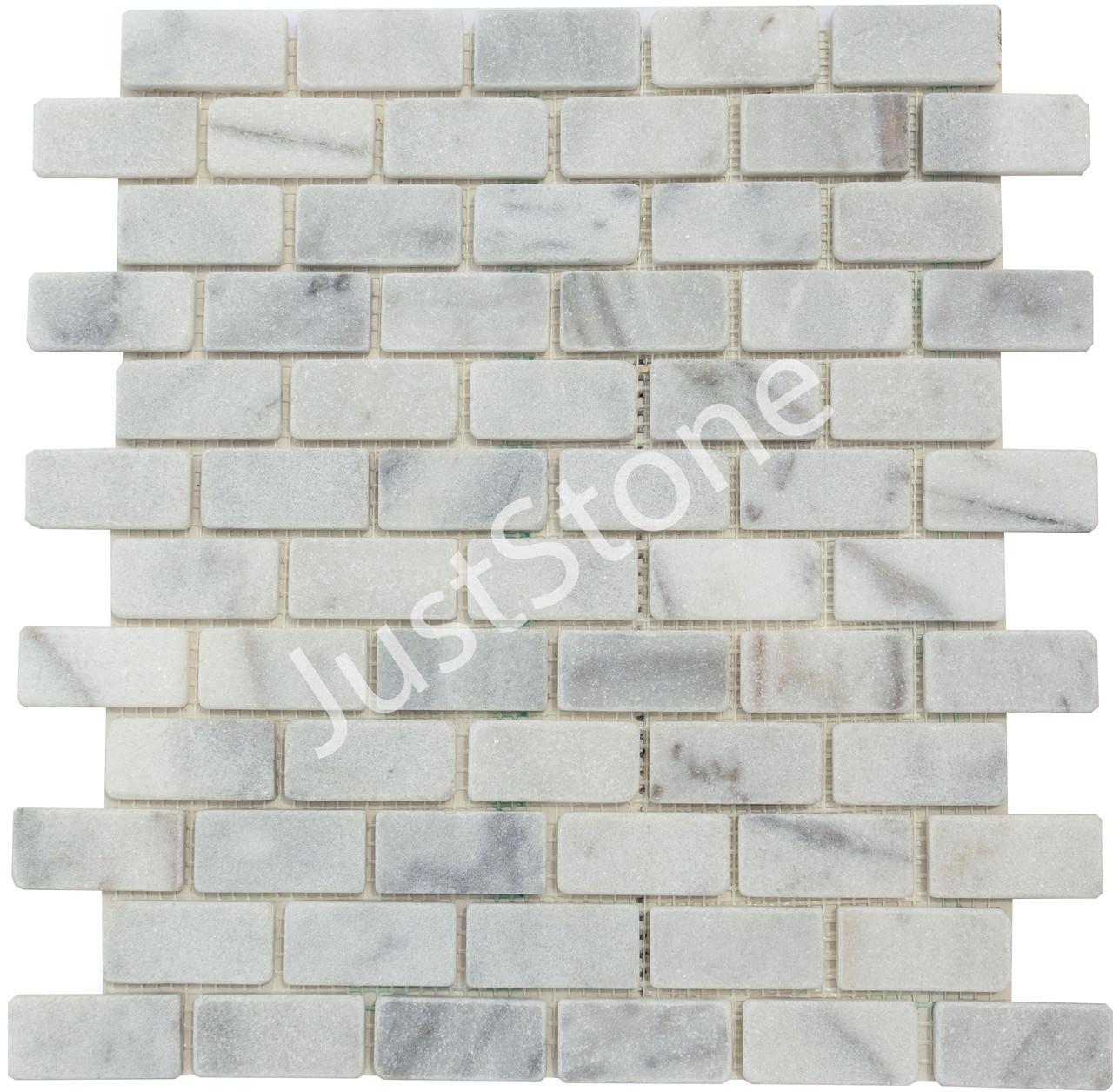 Мозаичная плитка Стар.Валт. МКР-11СВ (47х23) 6 мм White Mix