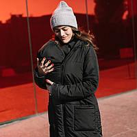 Зимняя слингокуртка LOVE & CARRY® 3 в 1 (размер 34, чёрный), фото 1