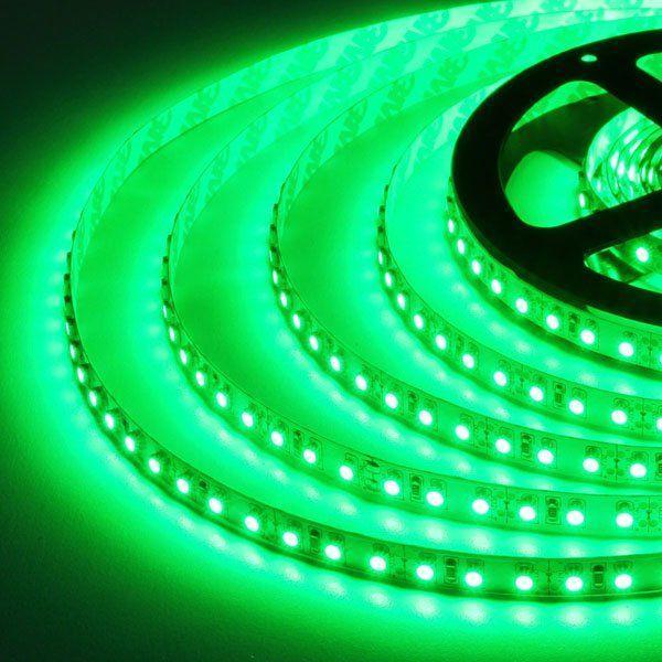 Светодиодная лента B-LED 3528-120 G IP65 зеленый, герметичная, 5метров