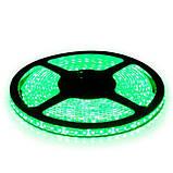 Светодиодная лента B-LED 3528-120 G IP65 зеленый, герметичная, 5метров, фото 2