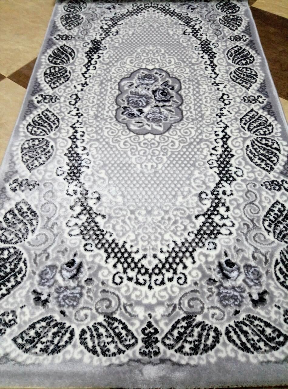 Ковер Rixos Alessa размер 80х150 см серый