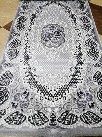 Ковер Rixos Alessa размер 80х150 см серый, фото 2
