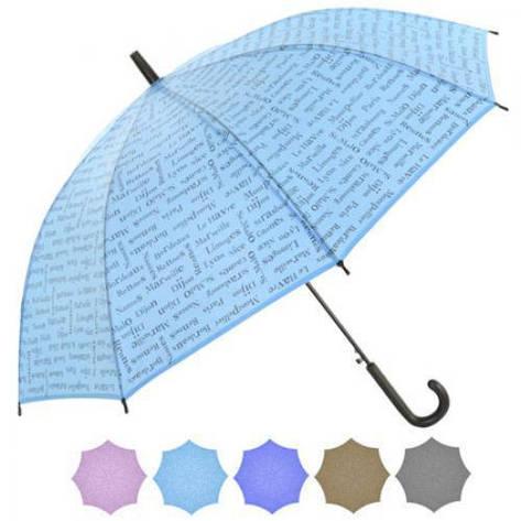 Зонт-трость полуавтомат r53.5см 8сп в чехле, фото 2
