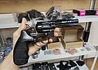 """Револьвер Zbroia PROFI 4.5"""" черный (пластик), фото 4"""
