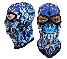 Термоактивная балаклава SportZone DeathBones. Термобалаклава, подшлемник, маска