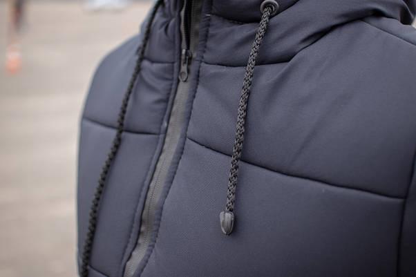 Куртка мужская зимняя синяя Glacier Intruder, фото 3