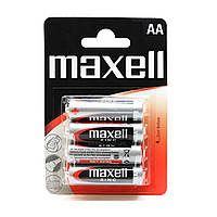 Солевая батарейка Maxell AA/LR6 (4шт)