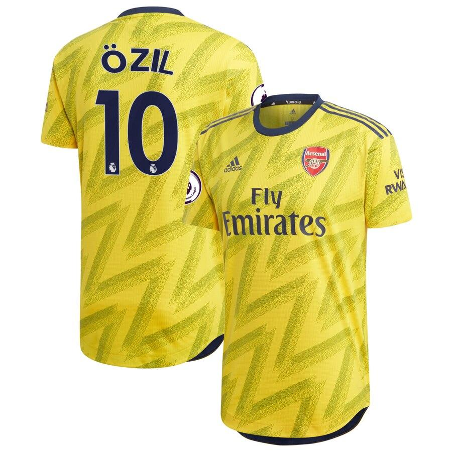 Детская футбольная форма Арсенал OZIL 10 сезон 2019-2020 запасная желтая