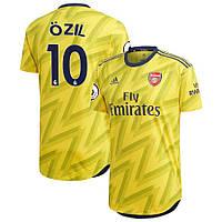 Детская футбольная форма Арсенал OZIL 10 сезон 2019-2020 запасная желтая, фото 1