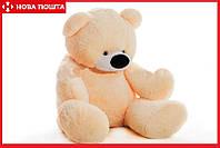 Большой медведь 180 см персиковый