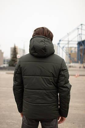 Куртка мужская зимняя хаки Glacier Intruder, фото 3